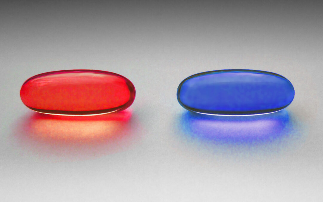 Blue Pill or Red Pill: Customize your life and the American dream